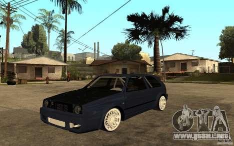 Volkswagen Golf GTI 2 Tuning para GTA San Andreas