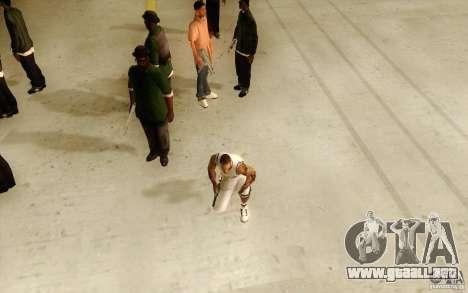 Sombras mais fortes em pedestres para GTA San Andreas segunda pantalla