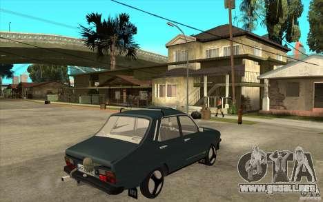 Dacia 1300 Cocalaro Tzaraneasca para la visión correcta GTA San Andreas