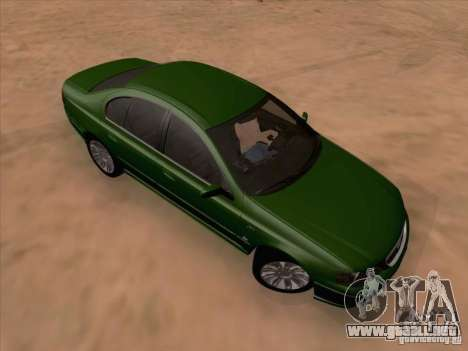 Ford Falcon Fairmont Ghia para GTA San Andreas left