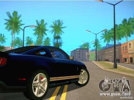 ENBSeries for SA-MP para GTA San Andreas sucesivamente de pantalla