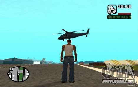 Apoyo aéreo cuando ataca. para GTA San Andreas quinta pantalla