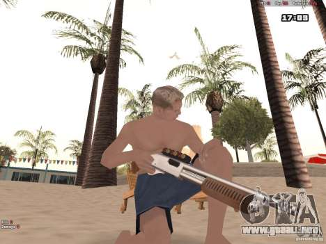 Woody Weapons Pack para GTA San Andreas segunda pantalla