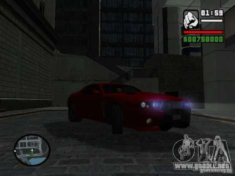 NFS Undercover Coupe para la visión correcta GTA San Andreas