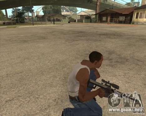New sniper para GTA San Andreas tercera pantalla