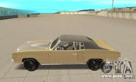 Chevy Monte Carlo [F&F3] para GTA San Andreas left