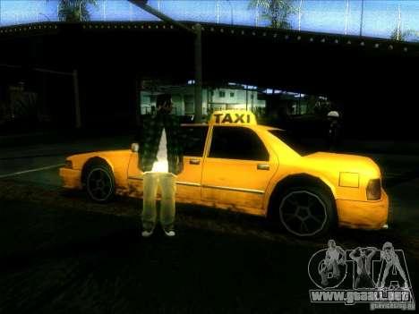 Sunrise Taxi para la visión correcta GTA San Andreas