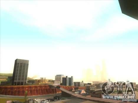ENBSeries para PC media y débil para GTA San Andreas segunda pantalla