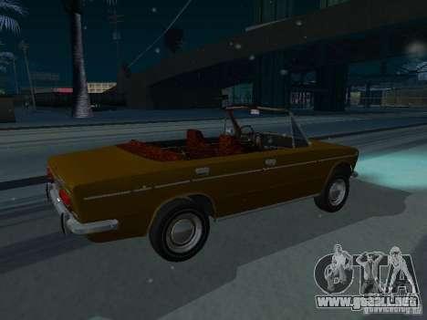 VAZ 2103 Convertible para GTA San Andreas vista posterior izquierda
