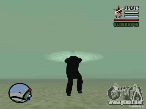 ENBSeries para GForce FX 5200 para GTA San Andreas quinta pantalla