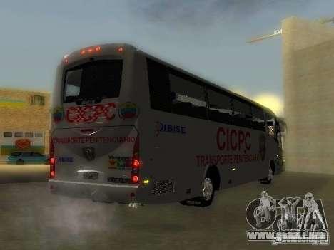 Irizar CICPC para GTA San Andreas left