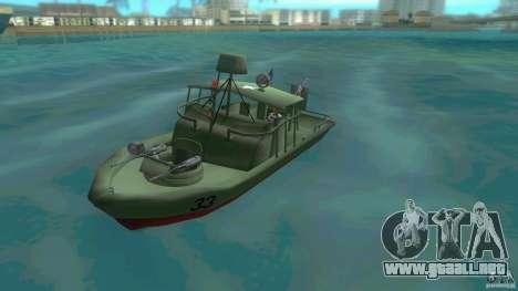Río bote patrulla Mark 2 (Player_At_Wheel) para GTA Vice City
