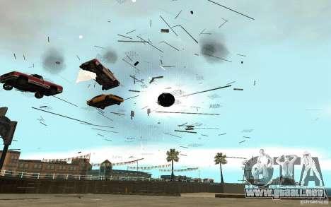 Agujero negro para GTA San Andreas octavo de pantalla