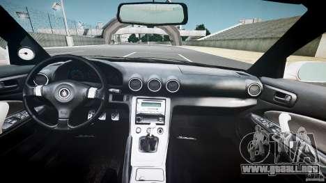 Nissan Silvia S15 Drift v1.1 para GTA 4 vista desde abajo