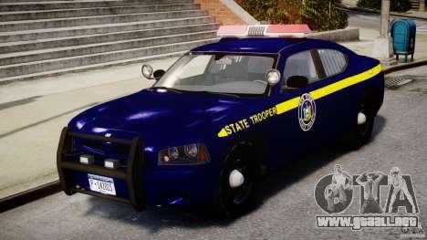 Dodge Charger NY State Trooper CHGR-V2.1M [ELS] para GTA 4 left