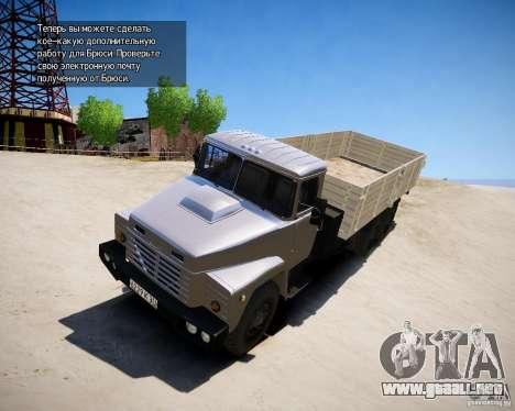 KrAZ 250 v 1.0 para GTA 4 left