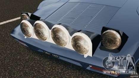 Lancia Stratos v1.1 para GTA 4 vista lateral