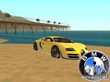 BMW velocímetro para GTA San Andreas sucesivamente de pantalla