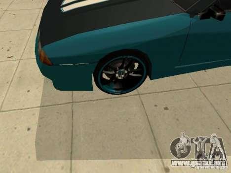 Elegy Forsage para GTA San Andreas vista hacia atrás