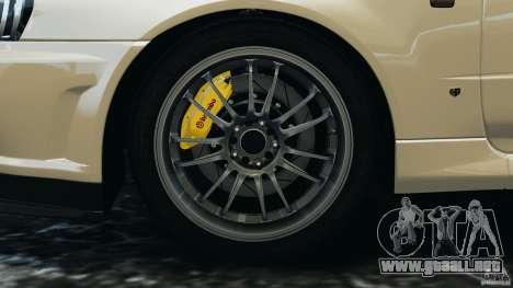 Nissan Skyline GT-R R34 2002 v1.0 para GTA 4 interior