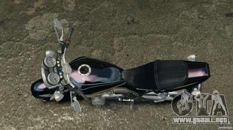 Kawasaki Zephyr para GTA 4 visión correcta