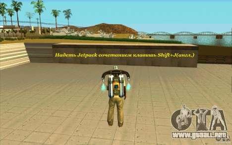 Skorpro Mods Vol.2 para GTA San Andreas sucesivamente de pantalla