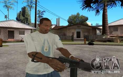 SR3M para GTA San Andreas quinta pantalla