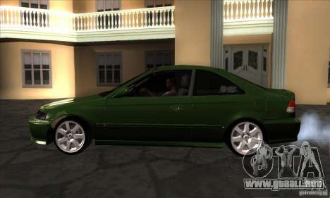 Honda Civic 1995 para GTA San Andreas left