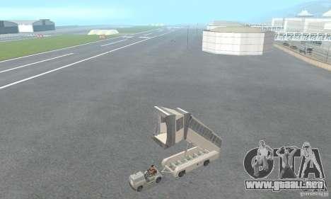 Airport Vehicle para GTA San Andreas sexta pantalla