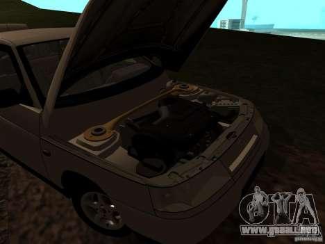 VAZ-21103 para visión interna GTA San Andreas