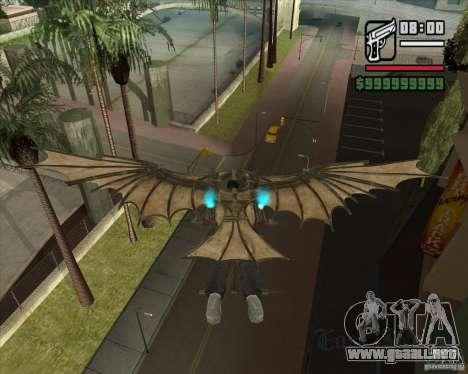 Máquina voladora de Leonardo da Vinci para GTA San Andreas tercera pantalla