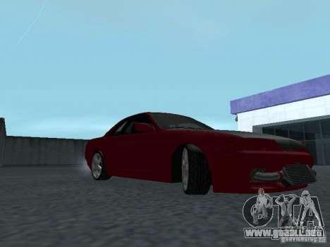 Nissan Skyline R32 Classic Drift para GTA San Andreas vista hacia atrás