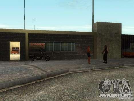 La escuela realista motociclistas v1.0 para GTA San Andreas segunda pantalla