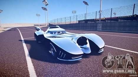 Batmobile v1.0 para GTA 4 vista interior