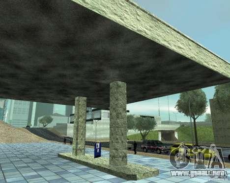 HD garaje en Doherty para GTA San Andreas tercera pantalla