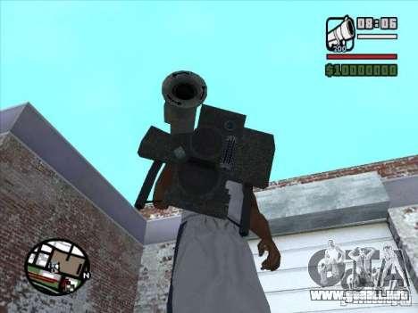 FGM-148 Dževlin para GTA San Andreas segunda pantalla