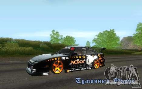 Nissan Silvia RPS13 Noxx para GTA San Andreas left