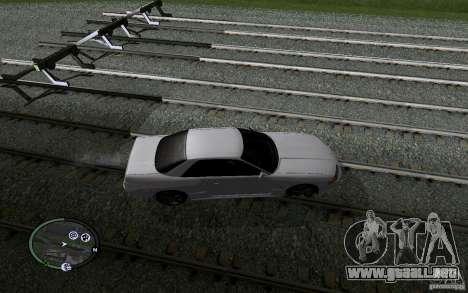 Rieles rusos para GTA San Andreas undécima de pantalla