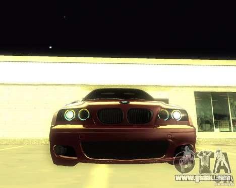 BMW 330 Ci para la visión correcta GTA San Andreas