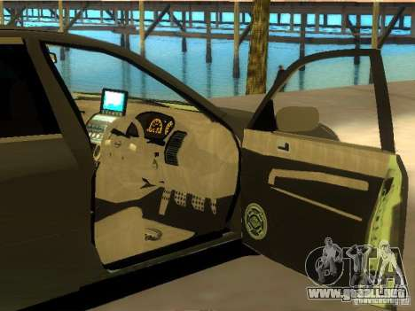 Nissan Skyline 300 GT para la vista superior GTA San Andreas