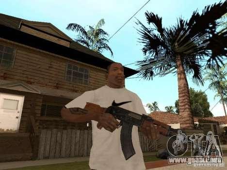 Kalashnikov AK-47 para GTA San Andreas