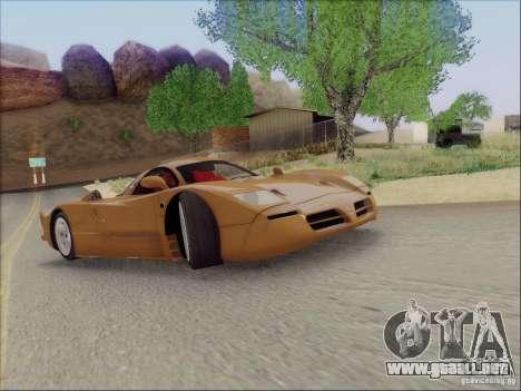 Nissan R390 Road Car v1.0 para GTA San Andreas