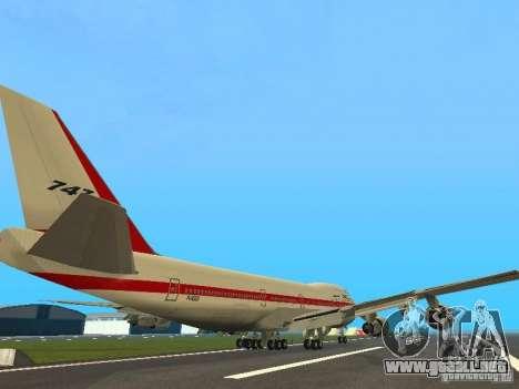 Boeing 747-100 para la visión correcta GTA San Andreas