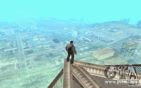 Animación del GTA IV para GTA San Andreas quinta pantalla