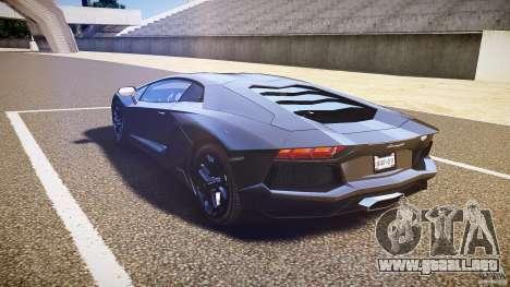 Lamborghini Aventador LP700-4 [EPM] 2012 para GTA 4 Vista posterior izquierda