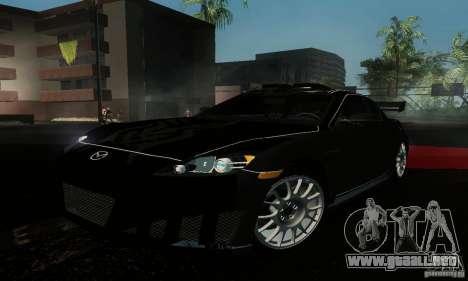Mazda RX-8 Tuneable para la visión correcta GTA San Andreas