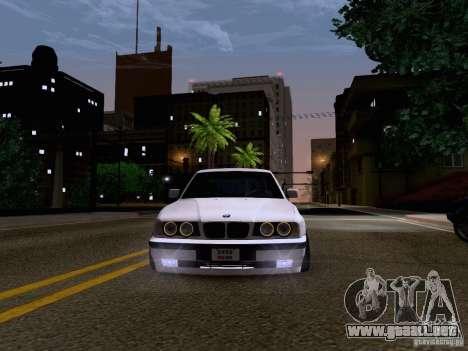 BMW M5 E34 Stance para visión interna GTA San Andreas