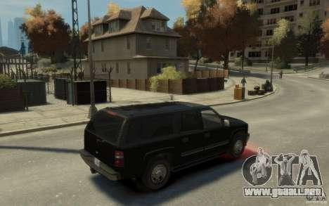 Chevrolet Suburban 2003 FBI para GTA 4 visión correcta