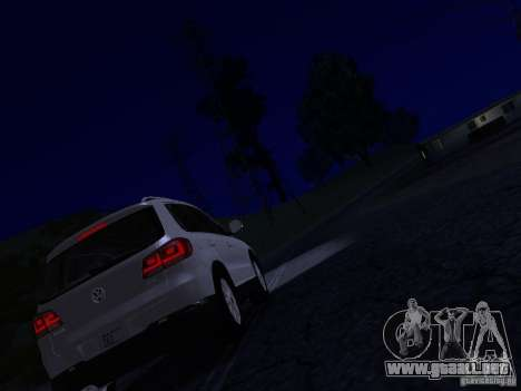 Volkswagen Tiguan 2.0 TDI 2012 para GTA San Andreas interior