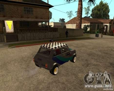 Mini Cooper para la visión correcta GTA San Andreas